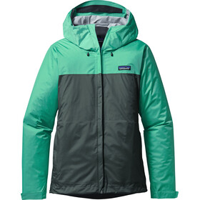Patagonia Torrentshell Jacket Women Galah Green/Nouveau Green